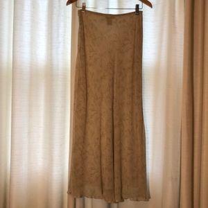 vintage Banana Republic maxi skirt
